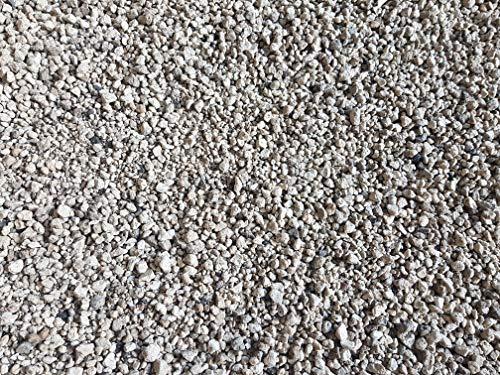 Der Naturstein Garten 100 kg (env. 135 litres) Gravier Ponce de Haute qualité 5-12 mm lavé - granulés pour Plantes - Livraison Gratuite