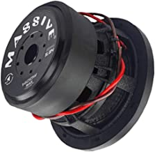 Car Subwoofer by Massive Audio HippoXL84 - SPL Extreme Bass Woofer - 8 Inch Car Audio 1,000 Watt HippoXL Series Competition Subwoofer, Dual 4 Ohm, 2.5 Inch Voice Coil. Sold Individually