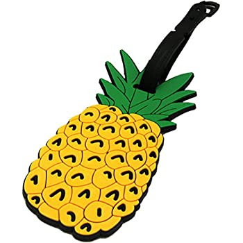 43 Pineapple Themed Luggage Tags