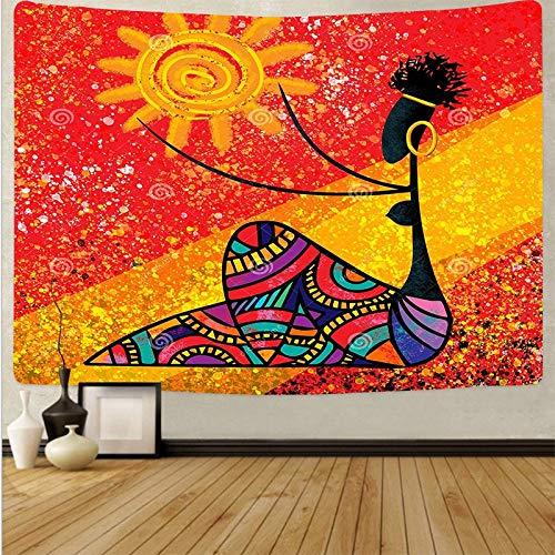 Arte psicodélico tela colgante decoración del hogar tapiz dormitorio dormitorio revestimiento de paredes tela de fondo abstracto a2 73x95 cm