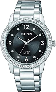 Citizen Women's Swaroski Crystal Quartz Watch, 35 mm - EL3090-81H