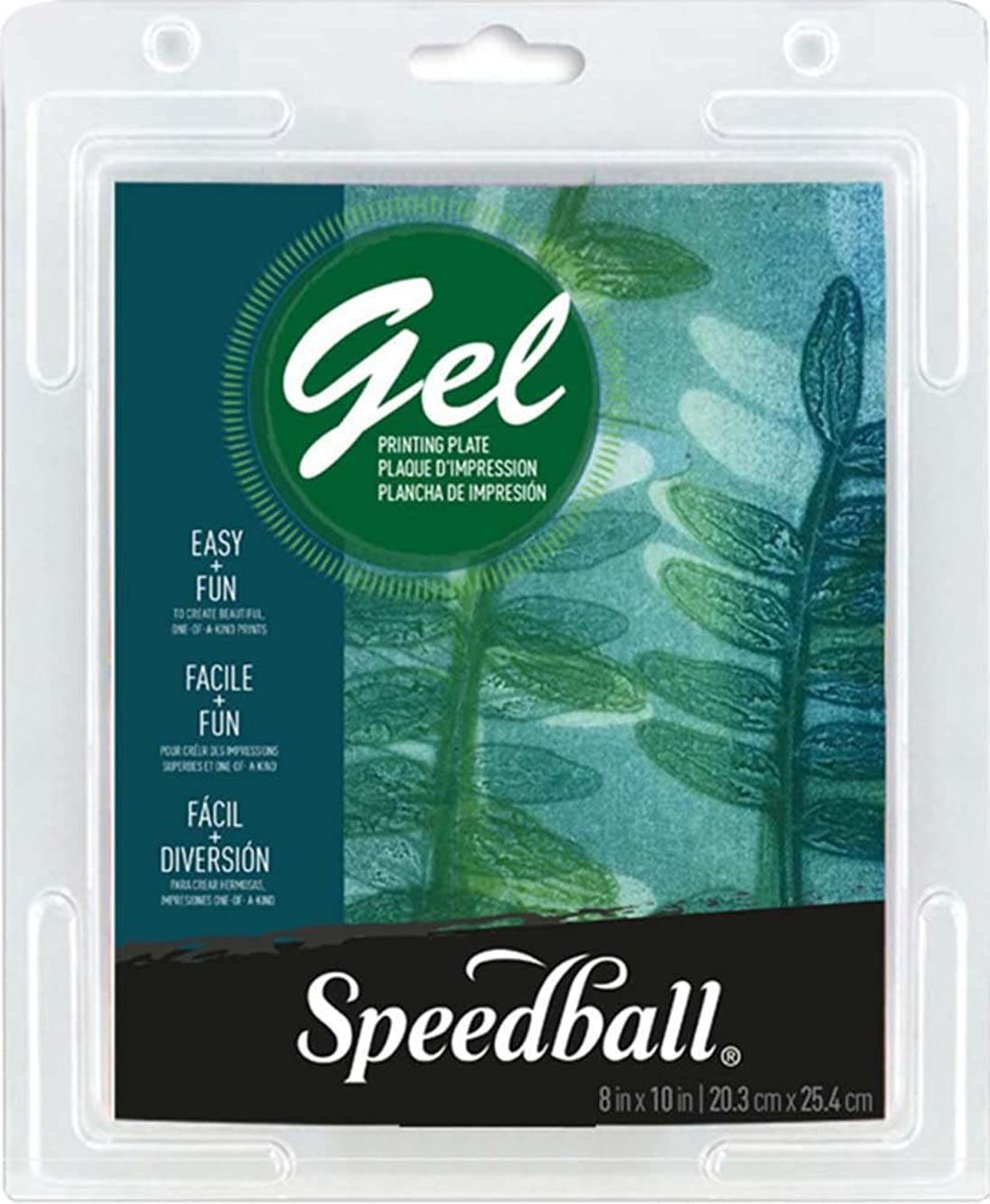 Speedball 8 X 10 Gel Printing Plate, 8