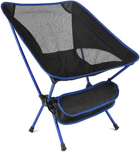 Table de camping table pliante Chaises de camping pliantes portatives en aluminium léger pour adultes Chaises de plage avec chaises de randonnée et sac de transport Compact pour le festival de pique-n