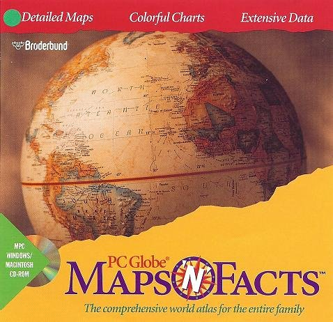 PC Globe Maps 'N' Facts : The Comprehensive World Atlas