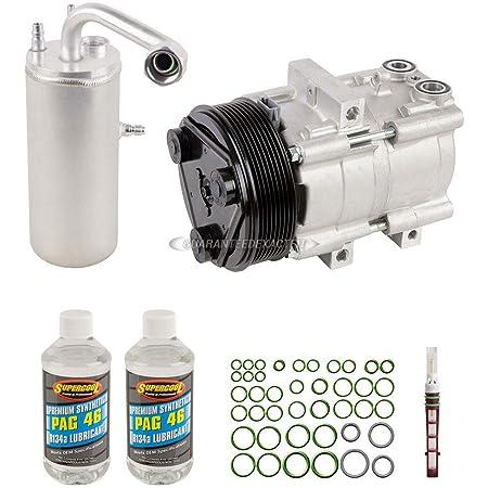 For Ford E-250 Econoline /& E-350 Super Duty AC Compressor w//A//C Repair Kit BuyAutoParts 60-82009RK New