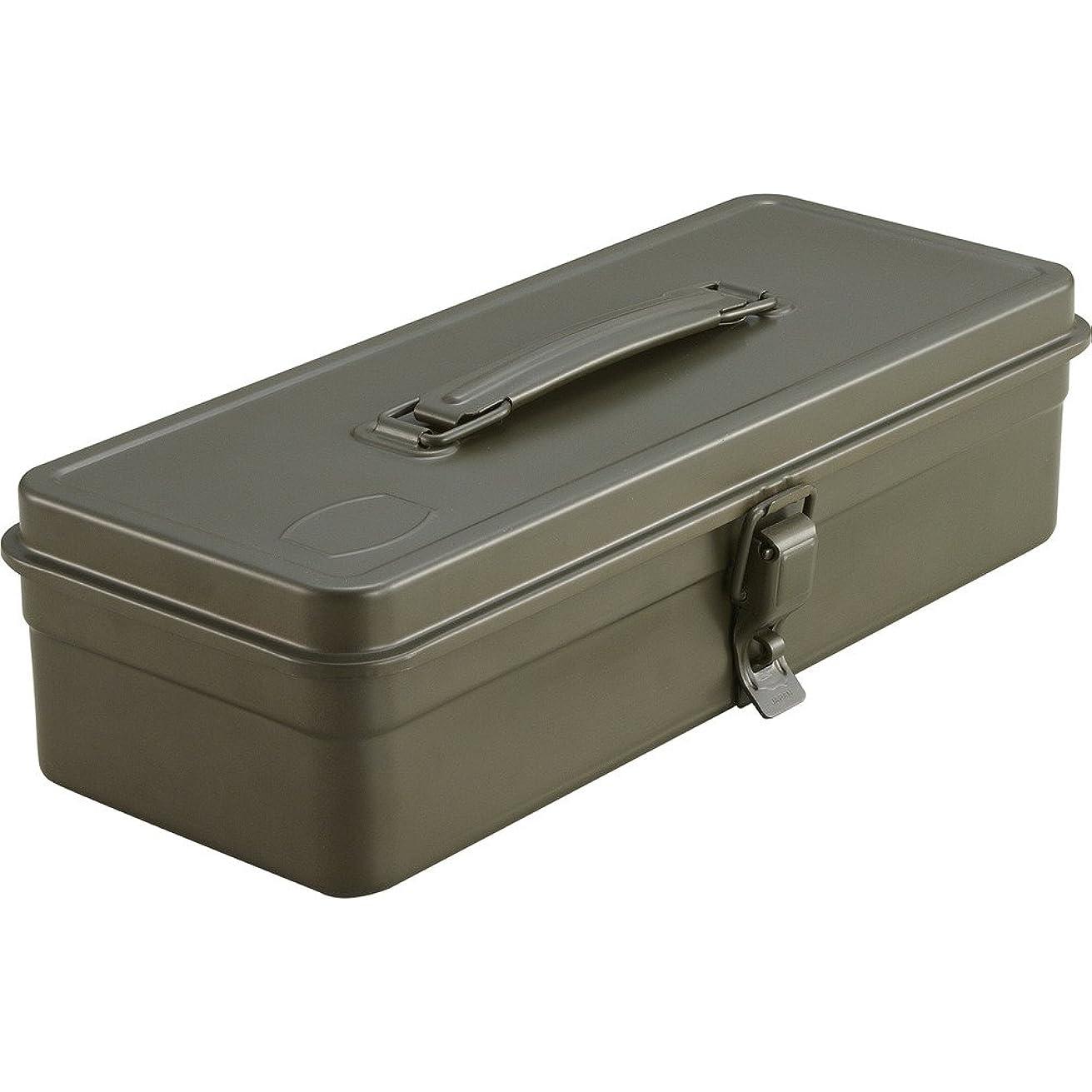 複雑プリーツ理容師TRUSCO(トラスコ) トランク型工具箱 333X137X96.5 OD色 T-320-OD