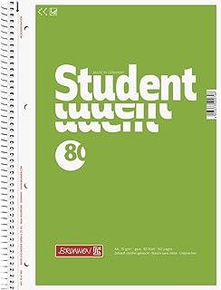 Brunnen 1067940 Notizblock / Collegeblock Student, A4, unlin