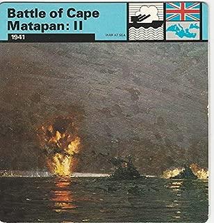 1977 Edito-Service, World War II, 10.20 Battle of Cape Matapan: II