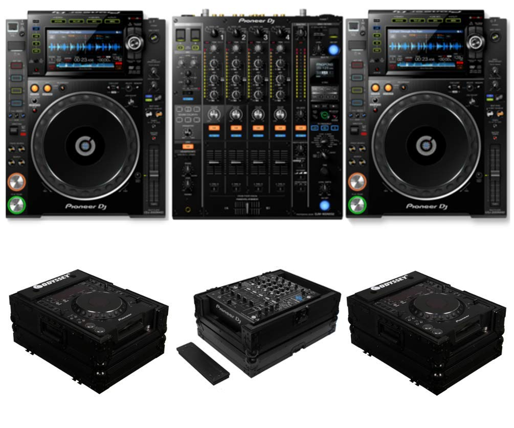 Sound Color FX Filters USB Audio Interface and Rekordbox DJ DV BUNDLE with 2 x Senor Microphone Cable 20 and Zorro Cloth Pioneer DJ DJM-250MK2 2 Channel Digital DJ Mixer with 3 Band Isolator EQs