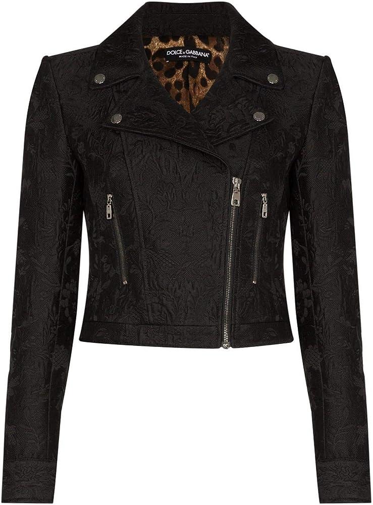 Dolce & gabbana luxury fashion,giacca,giubotto per donna,in 74% cotone, 26% seta F9H26TFJMPGN0000