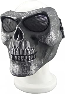 Best metallic skull mask Reviews