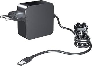 NEUE DAWN 65W Caricatore Alimentatore USB C Type C per Lenovo yoga 370 910 920 ThinkPad X1 Carbon, lenovo usb c