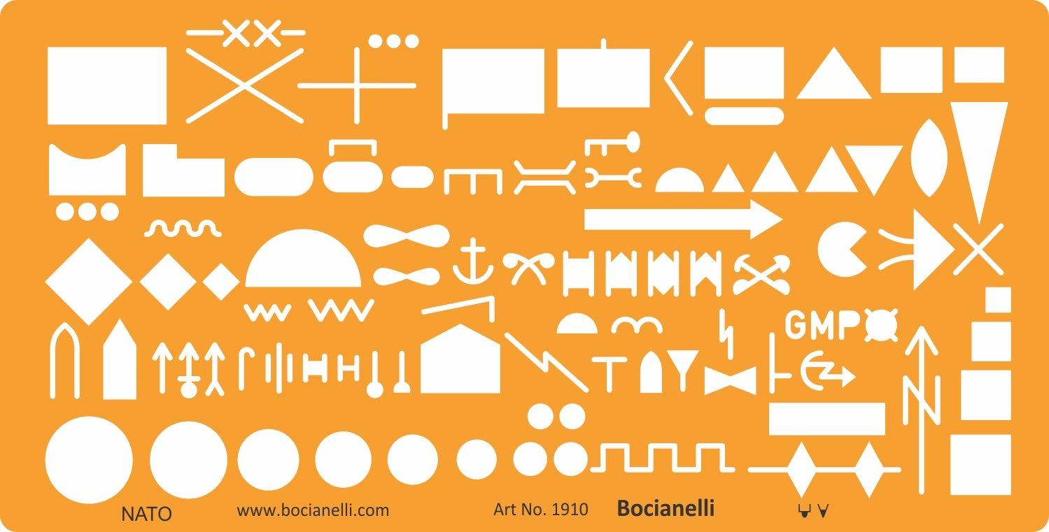 La OTAN ejército militar tropas táctico Plan mapa marcado símbolos dibujo plantilla de dibujo plantilla: Amazon.es: Oficina y papelería
