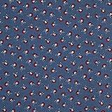 Fabulous Fabrics Baumwollstoff Cretonne Piraten – blau