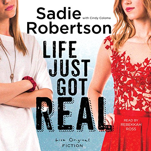 Life Just Got Real audiobook cover art