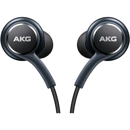 AKG Kopfh/örer 3-er Set In-Ear Headset mit Anrufannahme-Taste und Lautst/ärke-Regler satte B/ässe Stereo Sound EO-IG955 Bulk Schwarz
