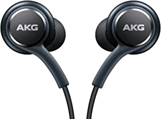 Official Galaxy S8 InEar Headphones EO-IG955BSEGW Tuned by AKG Remote Mic Earphones- Titanium Grey