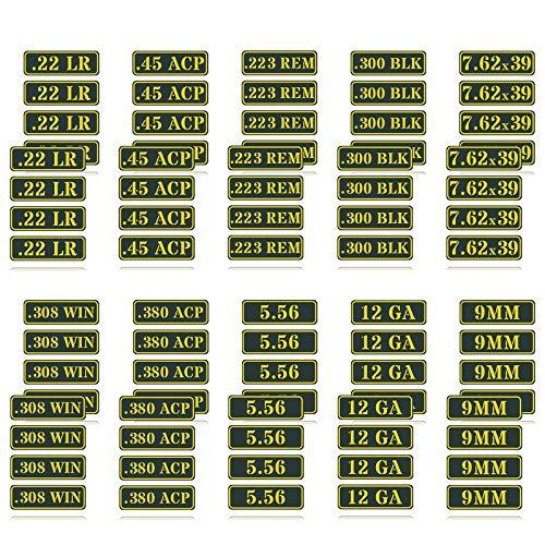 Ammo Can Vinyl Sticker Set Decal Label .22 .223 .308 9MM...