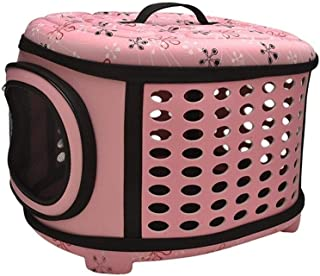 MAOSHE Pet Carrier Backpack - for Small Dogs and Cats - Water Bottle, Waste Bag and Storage Pouches, Mesh Windows