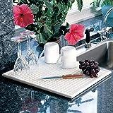 Lynk Dish Drying Tray - Dish Drainer Rack - White