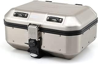 GIVI (ジビ) リアボックス 30L シルバー アルミ製 モノキー TREKKER DOLOMITIシリーズ DLB30A 95038