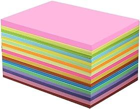 Kleur A4-papier, printpapier, kleurpapier 80 gram, kleurendrukpapier, A4-papier 500 vel-20 kleuren * 230 g * 100 vellen