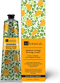 Dr Botanicals Vegan Japanese Orange Reviving Cream Anti Aging Hydrating Day and Night Moisturizer 50ml For All Types Of Skin