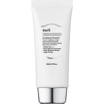 [KLAIRS] Soft Airy UV Essence SPF 50 PA ++++ 2.70 Fl OZ, sunscreen, Non-oily, No white-cast, Coral reef safe, Broad spectrum, Lightweight, Sensitive skin