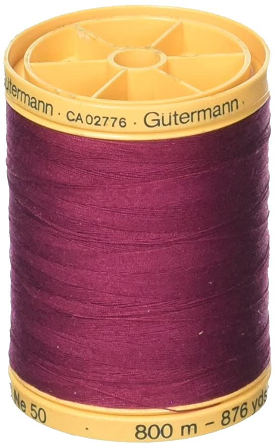 Gutermann 100% Natural Cotton Thread 800M Burgundy b201952521