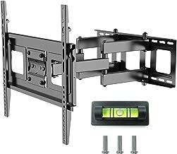 "Fleximounts A11 Full motion Swivel Tilt articulating TV wall mount Bracket for Most SONY/samsung/LG plasma LED/LCD/HD 32""-50"", Black"