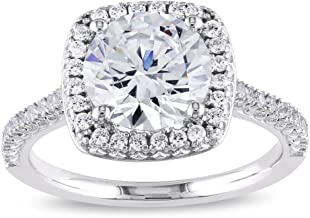 Best large cubic zirconia engagement rings Reviews