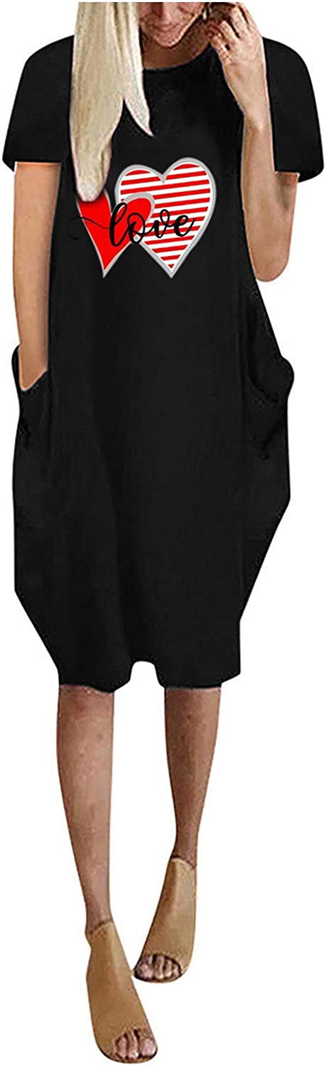 Gwewei4df Womens Casual Max 44% OFF Sale Special Price Plus Size Sleeve Lo Summer Fashion Short