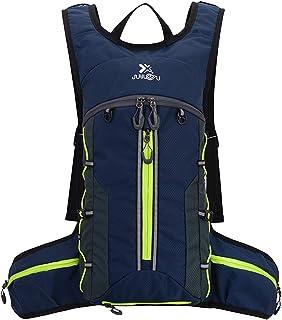 Mochila de ciclismo de 18 l, impermeable, transpirable, ligera, para deportes al aire libre, correr, senderismo, camping, montañismo, esquí