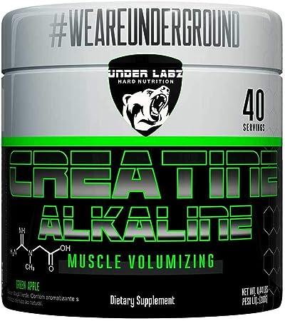 Creatine Alkaline - 200g Green Apple - Under Labz, Under Labz