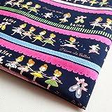 NP Fabric CT085 Ballerina-Stoff für Kinder, ca. 91 x 91