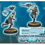 Mercenaries Warcors, War Correspondents Miniature Corvus Belli