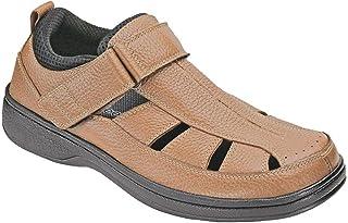 a3e5ede9cea6 Orthofeet Most Comfortable Plantar Fasciitis Melbourne Orthopedic Diabetic  Depth Men s Sandals