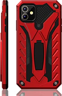 iPhone 11 Case | Military Grade | 12ft. Drop Tested Protective Case | Kickstand | Wireless Charging | Compatible with iPhone 11 - Red