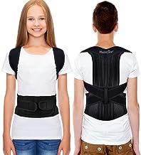 HailiCare Posture Corrector for Men and Women, Upper Back Brace for Clavicle Support, Adjustable Back Straightener Correct...