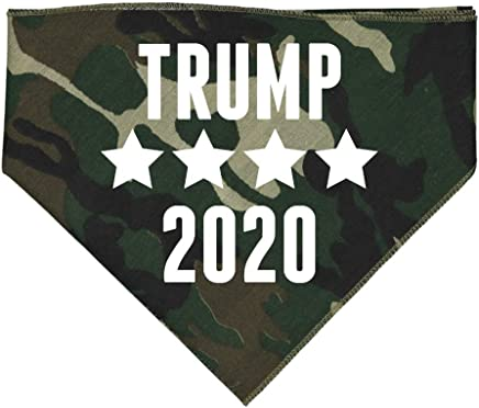 Mashed Clothing - Trump 2020 - Bandana for Dogs Assorted Colors