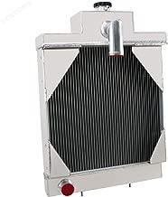 STAYCOO 3 Row Aluminum Tractor Radiator for Case IH 430CK 480B 480CK 530CK 580B A39344, A35604