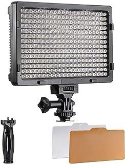 Lsmaa 308S PT ® 5600 K 20 W Regulable en la cámara de luz LED de vídeo for Canon Nikon Pentax Panasonic Sony Samsung Olympus y más cámaras DSLR