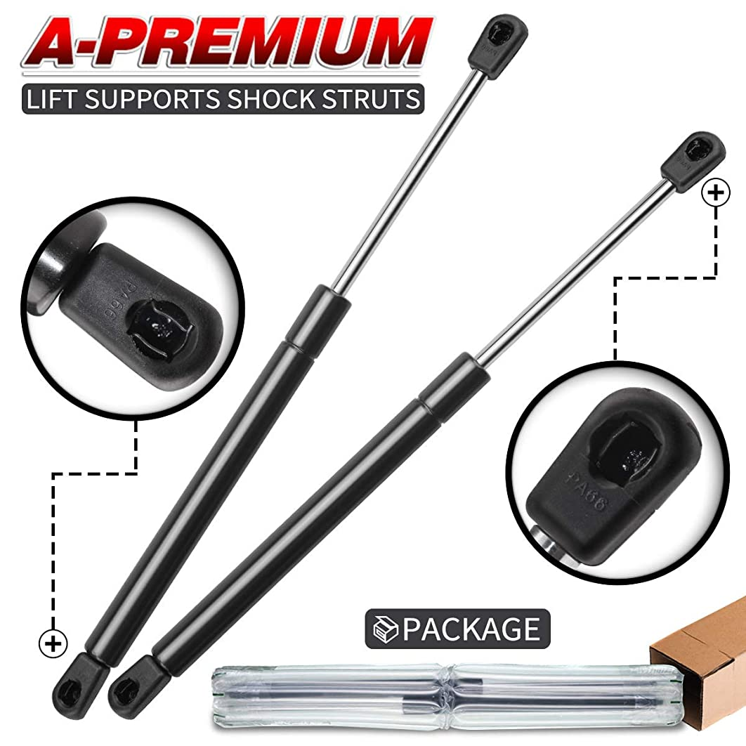 A-Premium Rear Window Glass Lift Supports Shock Struts for Ford Excursion 2000-2005 4WD 4x4 Four Wheel Drive only 2-PC Set