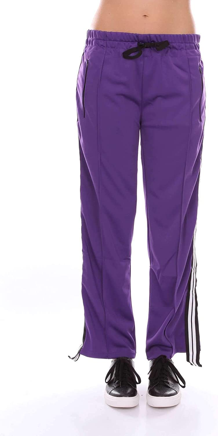 AKEP Women's CKE24PURPLE Purple Cotton Pants