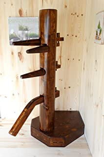 dummymaker Wing Chun Wooden Dummy Closed Base Corner …