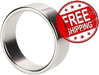 Alloy Metallic Aluminum Metal Enhancer Enhancement Ring Toy for Male LuAPA2849