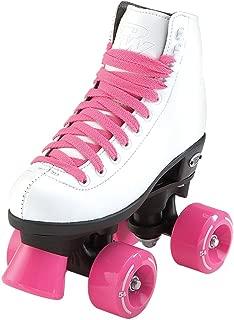 Riedell RW Skates - Wave - Kids Quad Roller Skates for Indoor/Outdoor