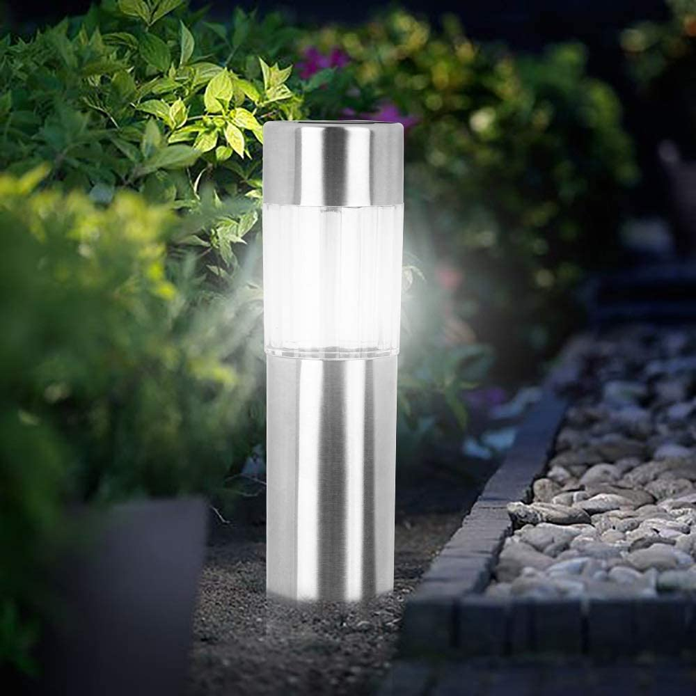 Z.L.F.J.P Lights Solar Lawn Lamp Our shop OFFers the best service Wa Max 41% OFF Cylindrical Outdoor LED