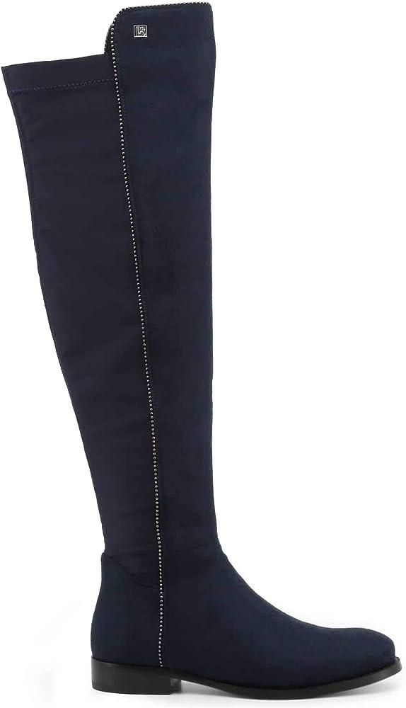 Laura biagiotti, stivali al ginocchio pèr donna casual ,in camoscio sintetico 0000156604_0