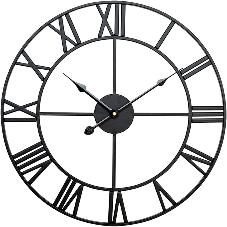 Wall Limited Special Price Clock Decorative Round Retro Livi Max 51% OFF Simple Silent